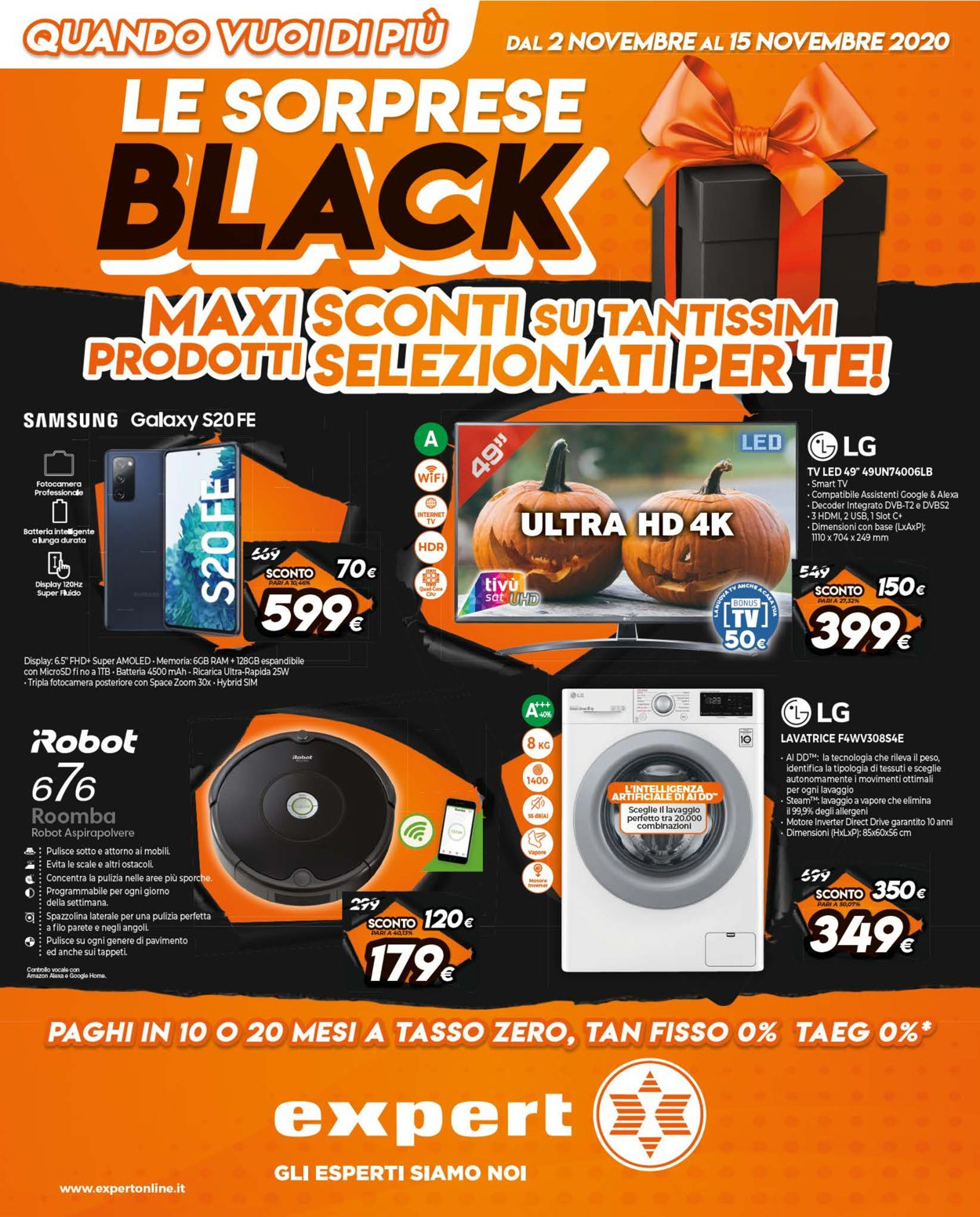 Volantino Expert - Black Friday 2020 - Offerte 02/11-15/11/2020