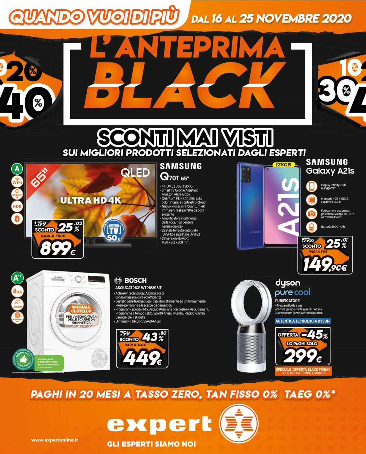 Volantino Expert - Black Friday 2020 - Offerte 16/11-25/11/2020