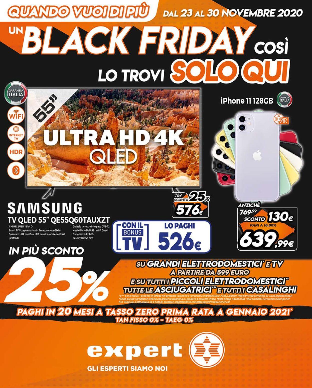 Volantino Expert - Black Friday 2020 - Offerte 23/11-30/11/2020