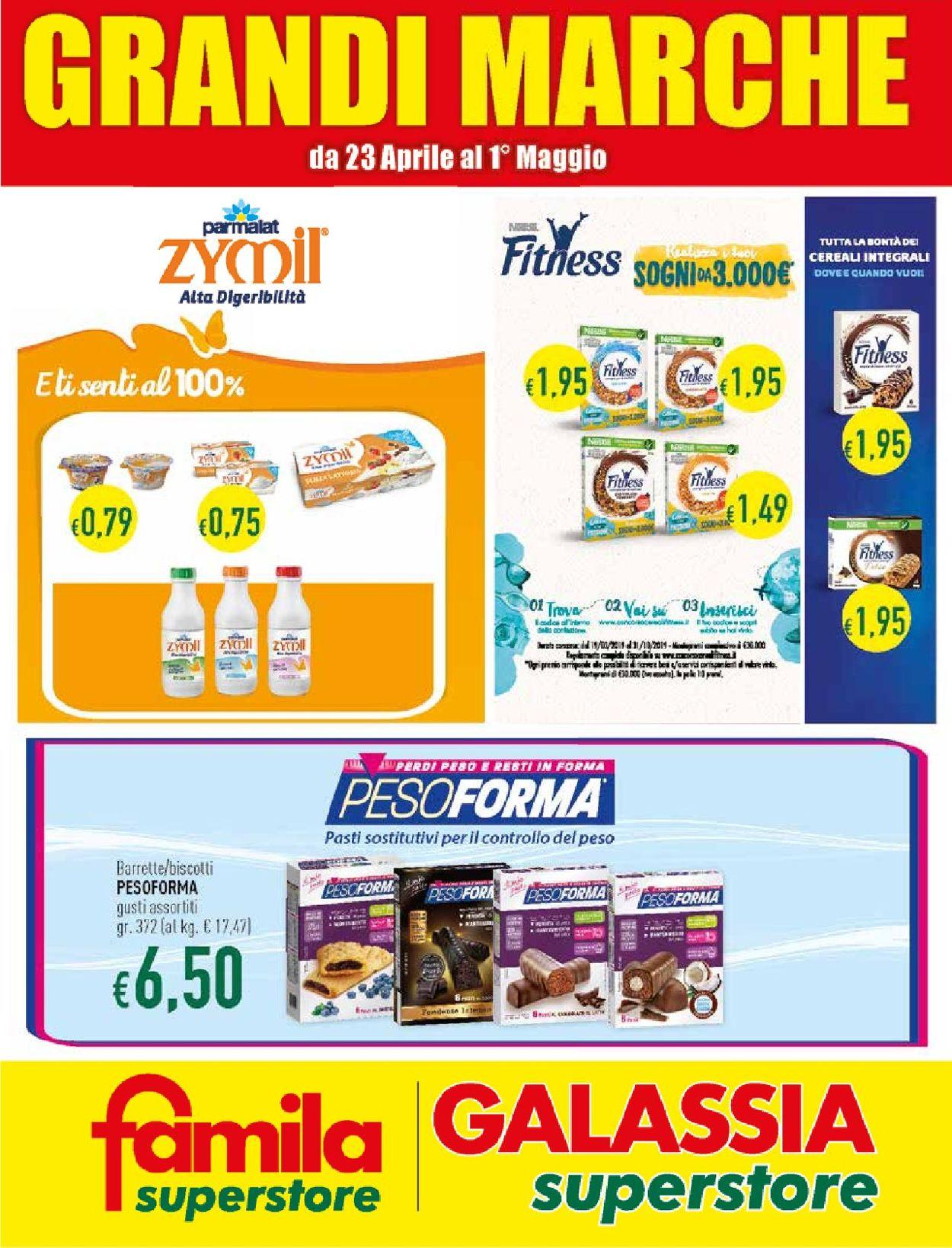Volantino Famila - Offerte 23/04-01/05/2019