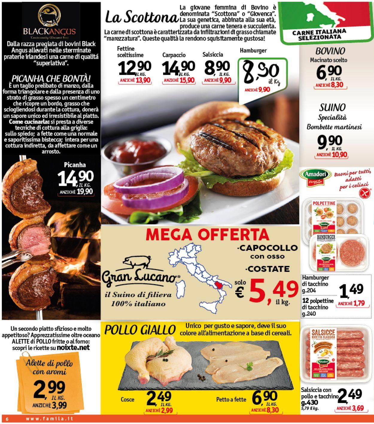 Volantino Famila - Offerte 22/05-01/06/2019 (Pagina 6)