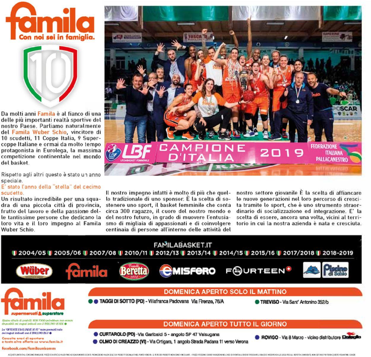 Volantino Famila - Offerte 25/07-07/08/2019 (Pagina 28)