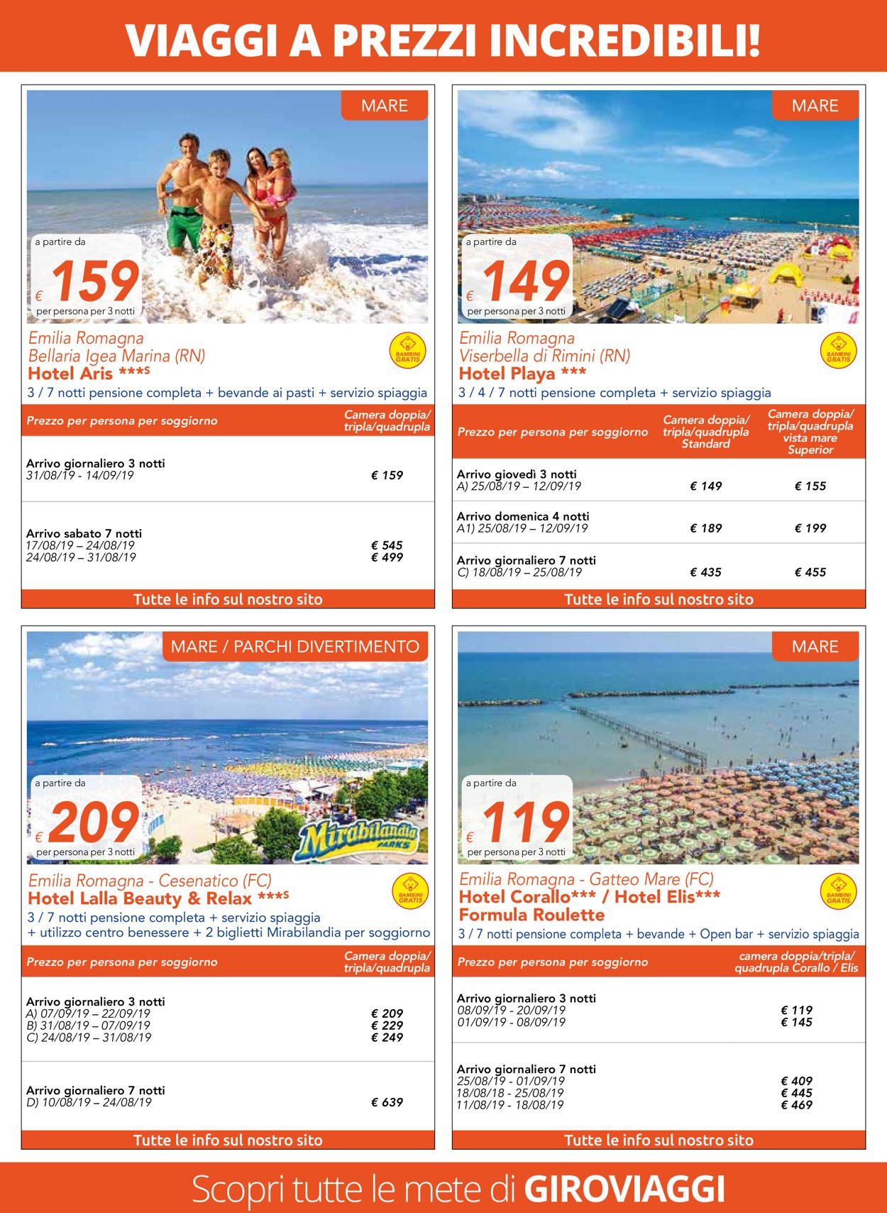Volantino Famila - Offerte 01/08-31/08/2019 (Pagina 4)