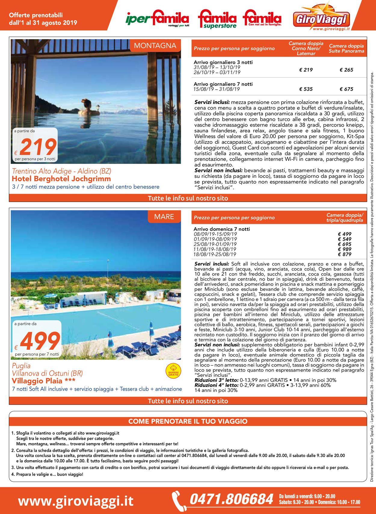 Volantino Famila - Offerte 01/08-31/08/2019 (Pagina 12)