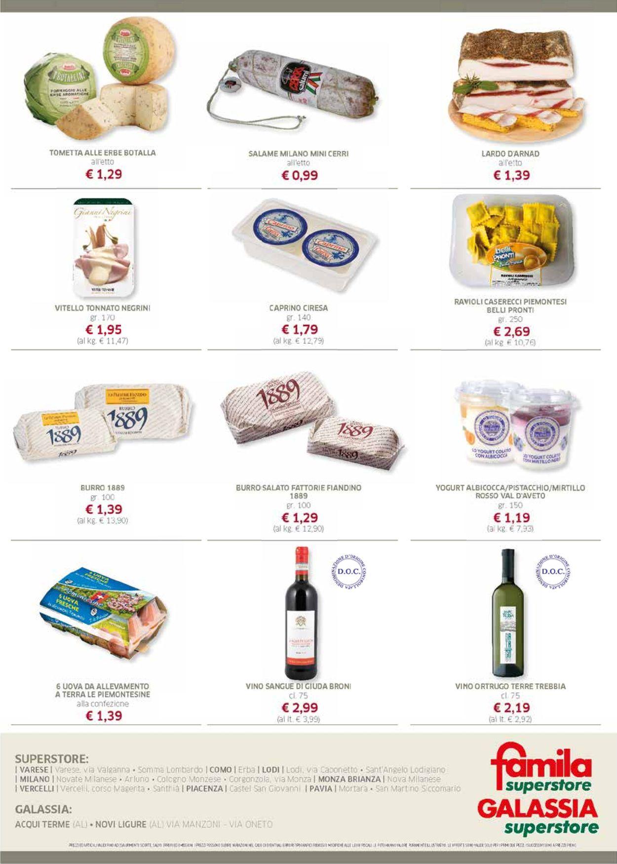 Volantino Famila - Offerte 08/08-21/08/2019 (Pagina 2)