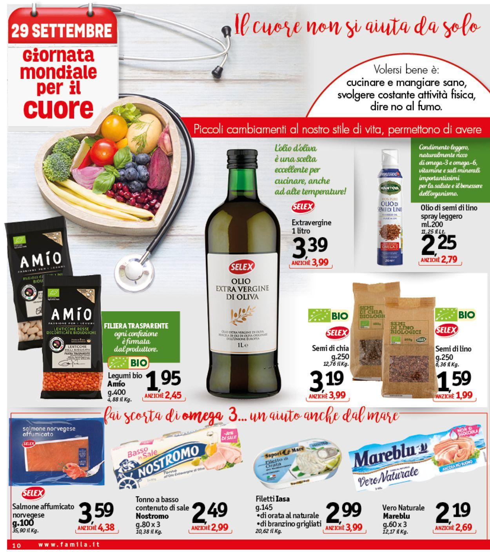 Volantino Famila - Offerte 27/09-05/10/2019 (Pagina 10)