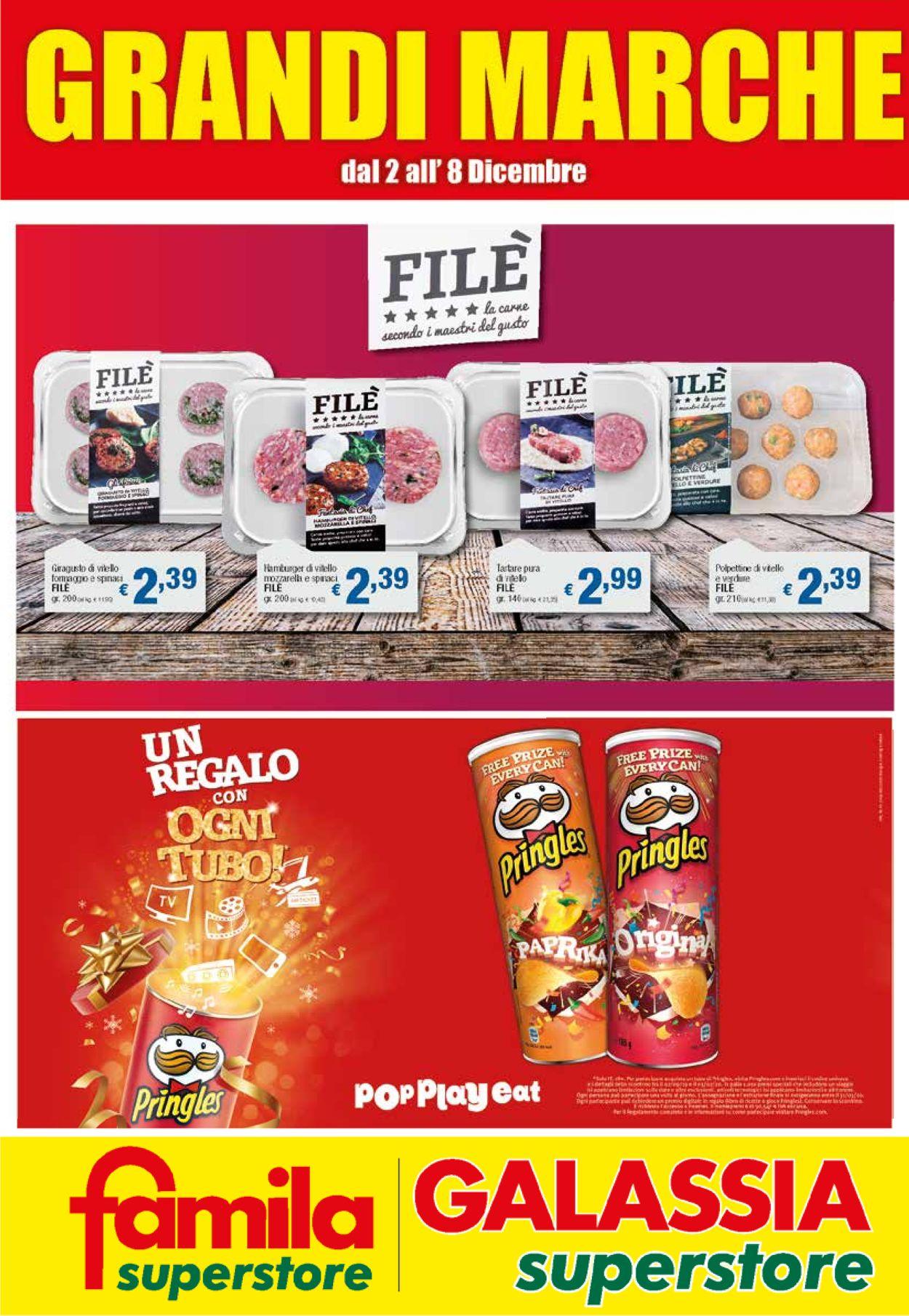 Volantino Famila - Offerte 02/12-08/12/2019