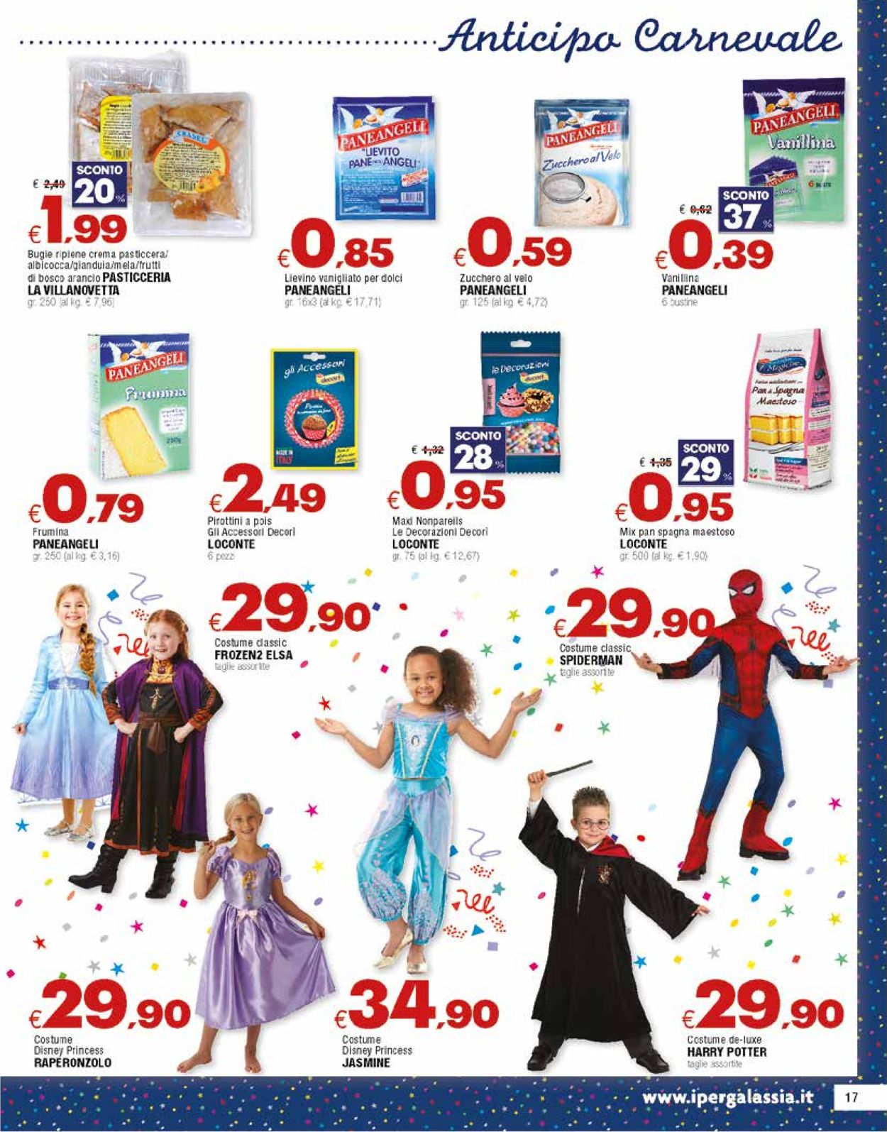 Volantino Famila - Offerte 20/01-05/02/2020 (Pagina 17)