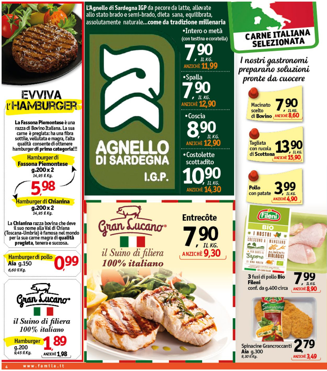 Volantino Famila - Offerte 30/01-08/02/2020 (Pagina 4)