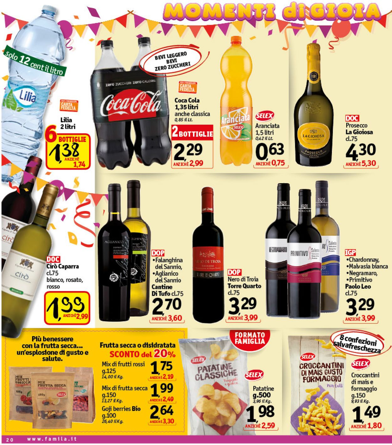 Volantino Famila - Offerte 30/01-08/02/2020 (Pagina 20)