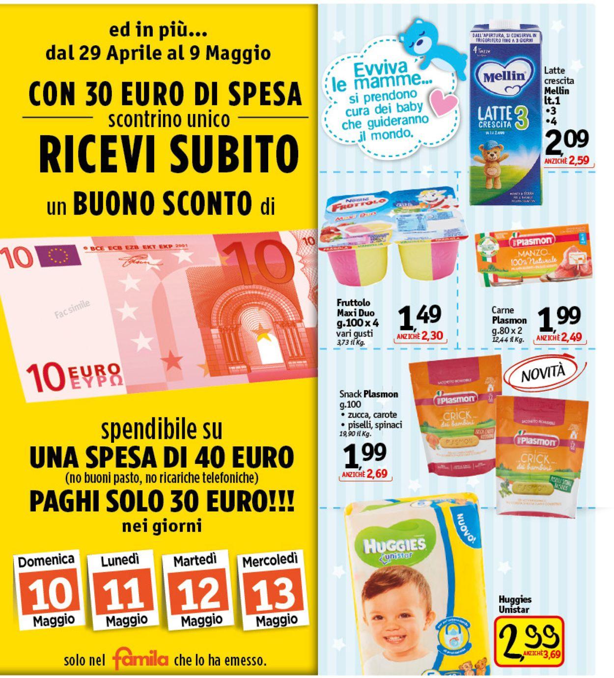 Volantino Famila - Offerte 29/04-09/05/2020 (Pagina 20)