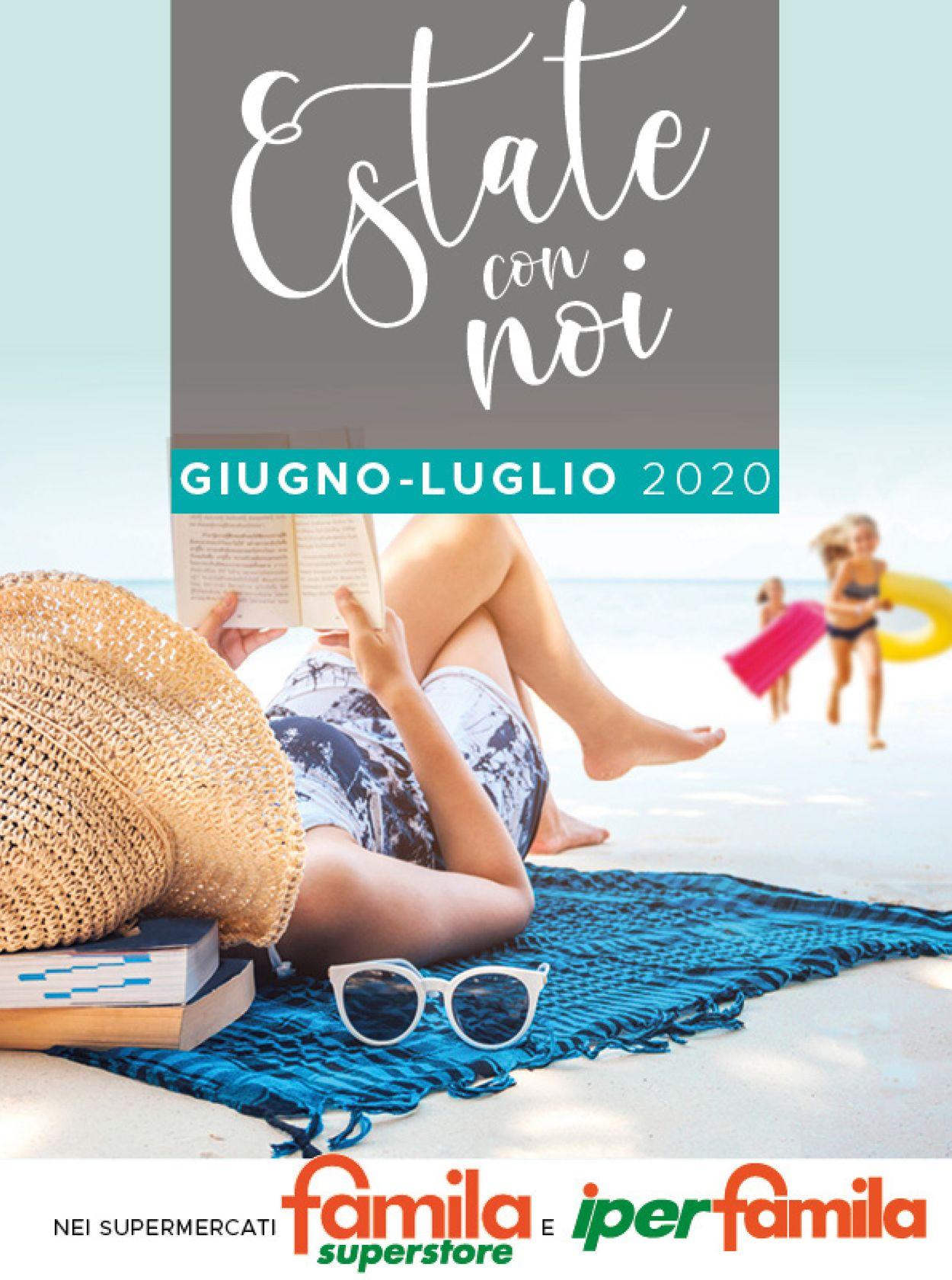 Volantino Famila - Offerte 01/06-31/07/2020