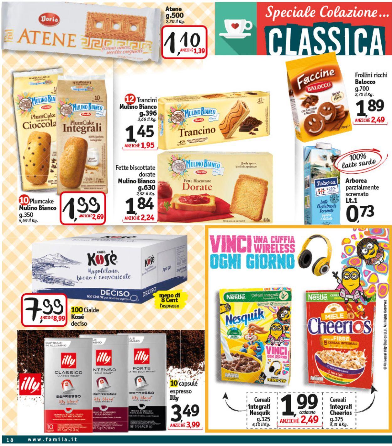 Volantino Famila - Offerte 11/09-16/09/2020 (Pagina 18)