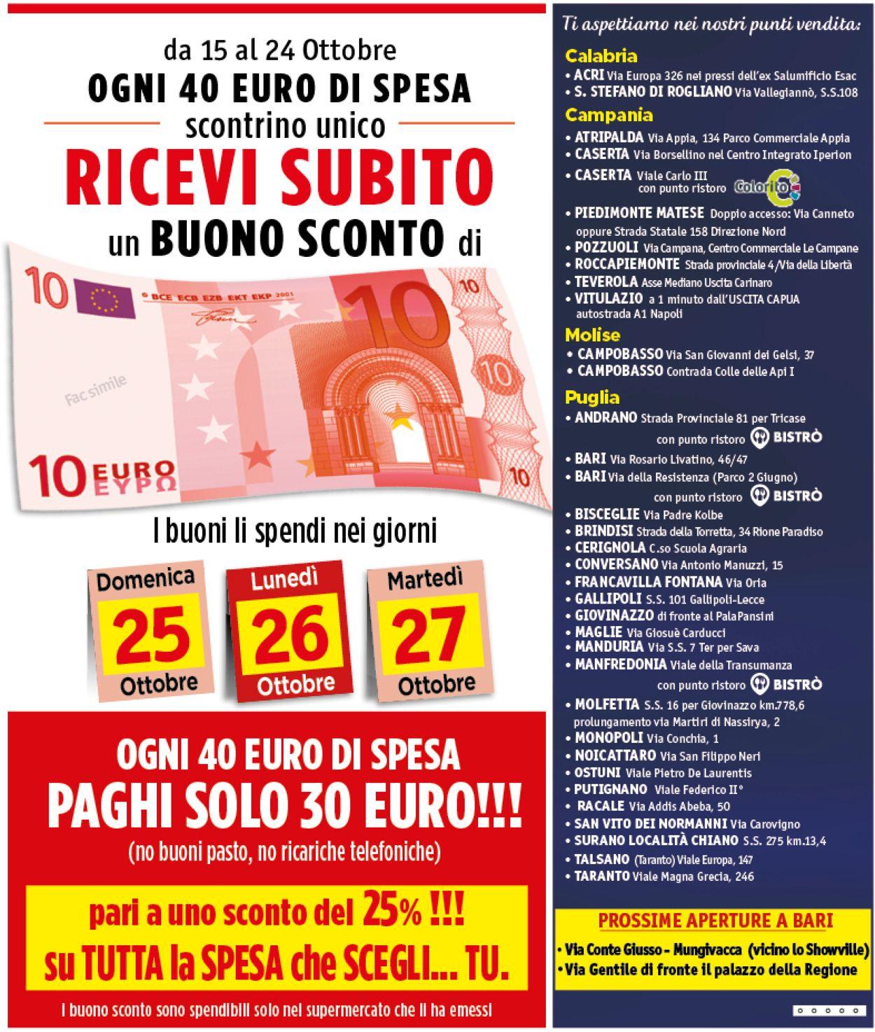 Volantino Famila - Offerte 15/10-24/10/2020 (Pagina 12)