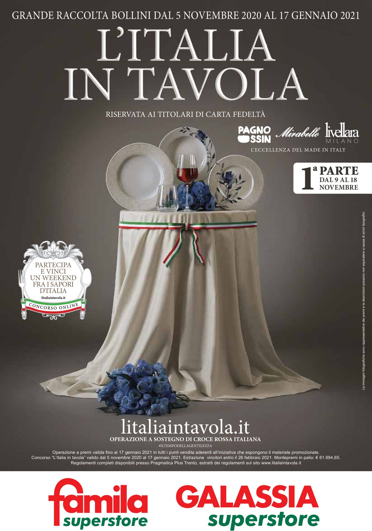 Volantino Famila - Offerte 05/11-11/01/2021