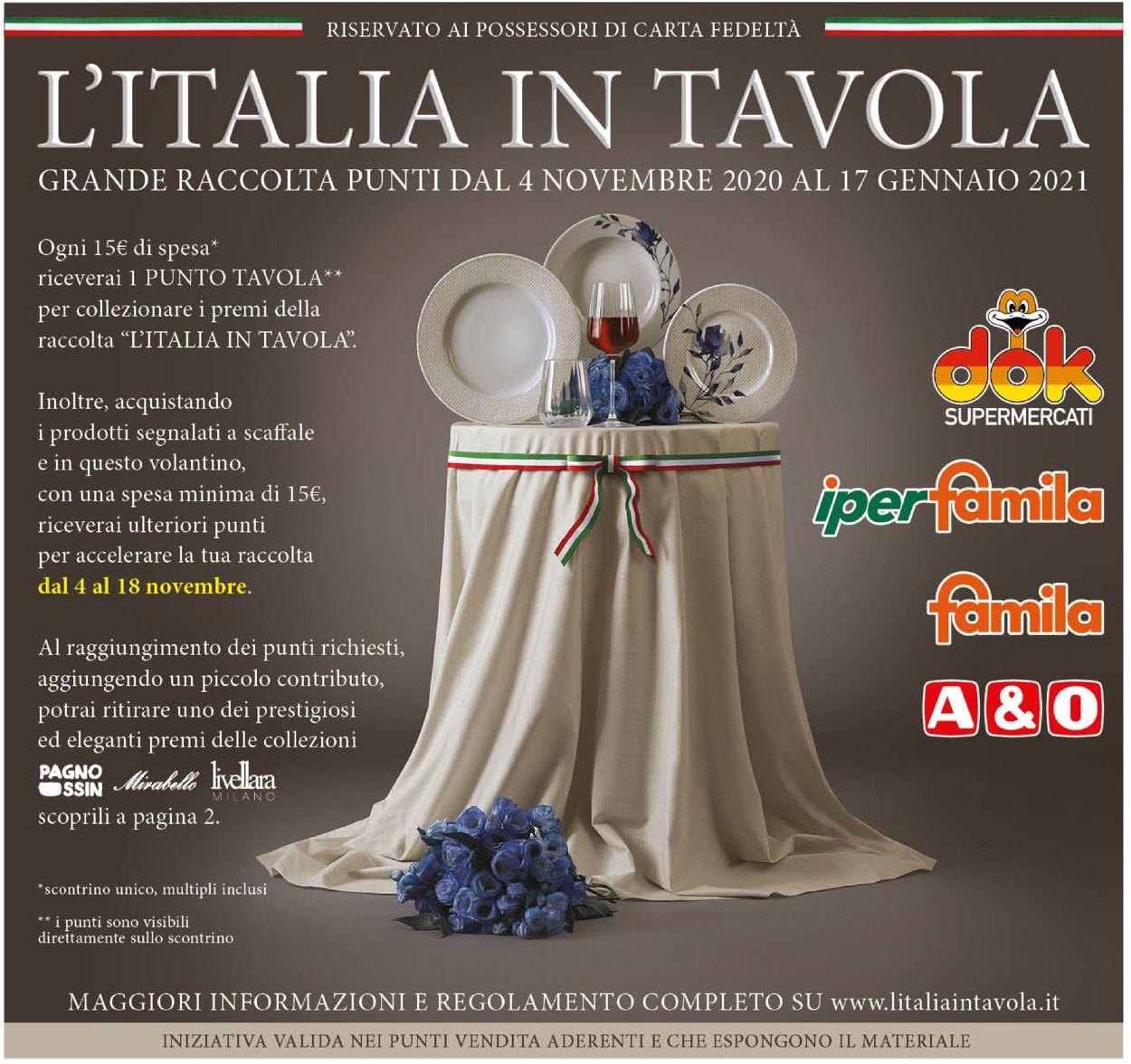 Volantino Famila - Offerte 03/11-17/01/2021
