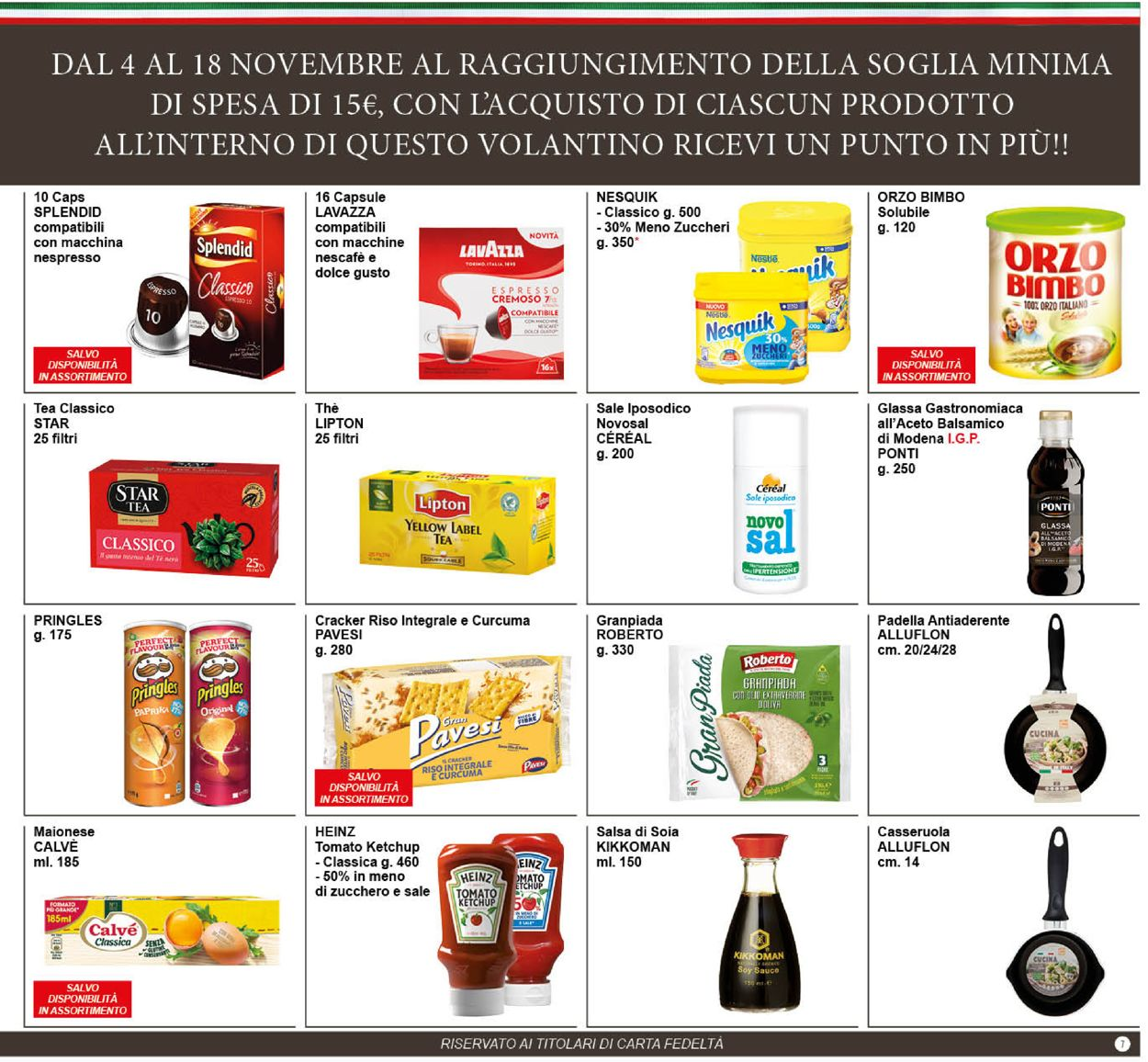 Volantino Famila - Offerte 03/11-17/01/2021 (Pagina 7)