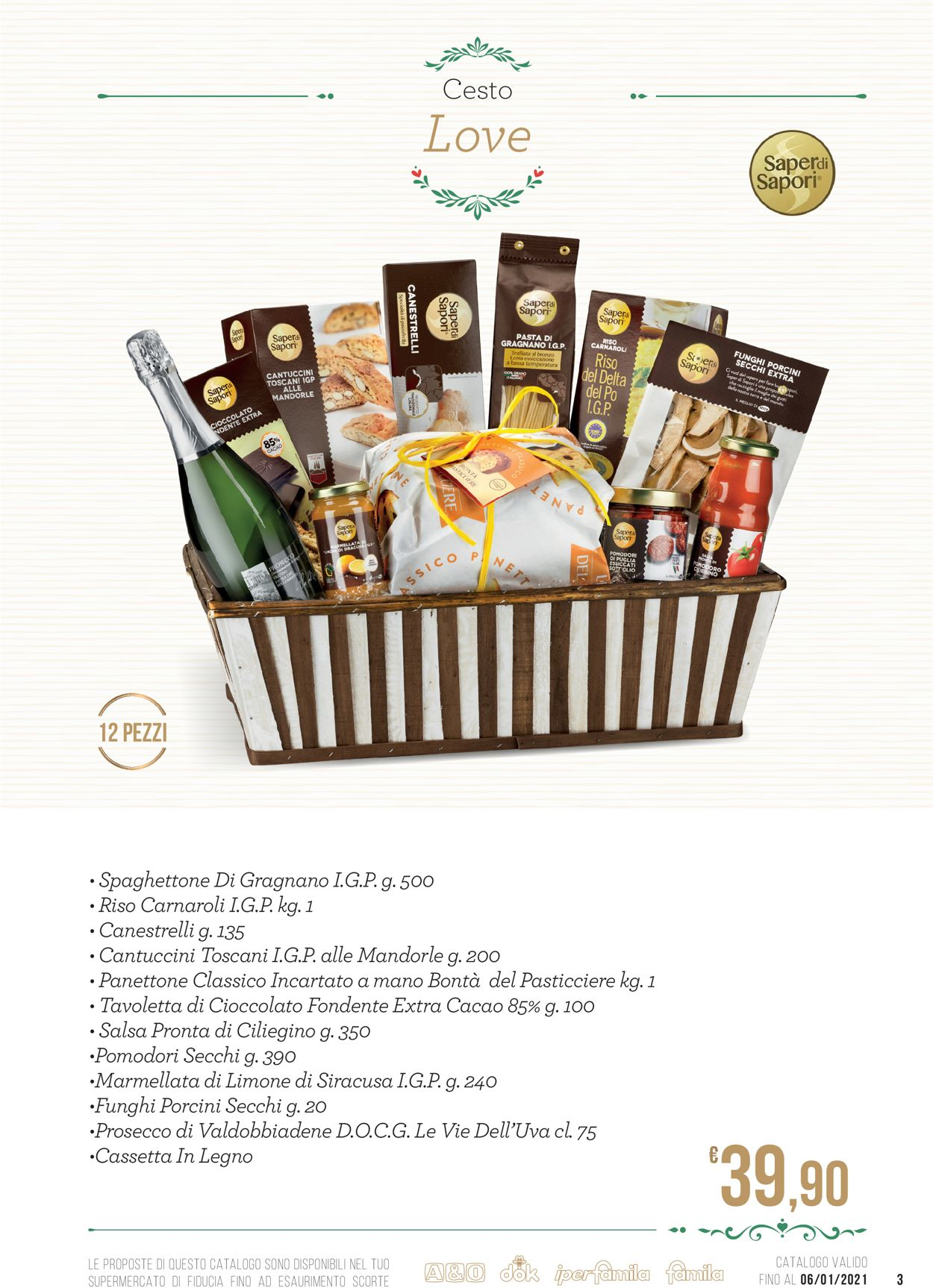 Volantino Famila - Natale 2020 - Offerte 25/11-06/01/2021 (Pagina 3)