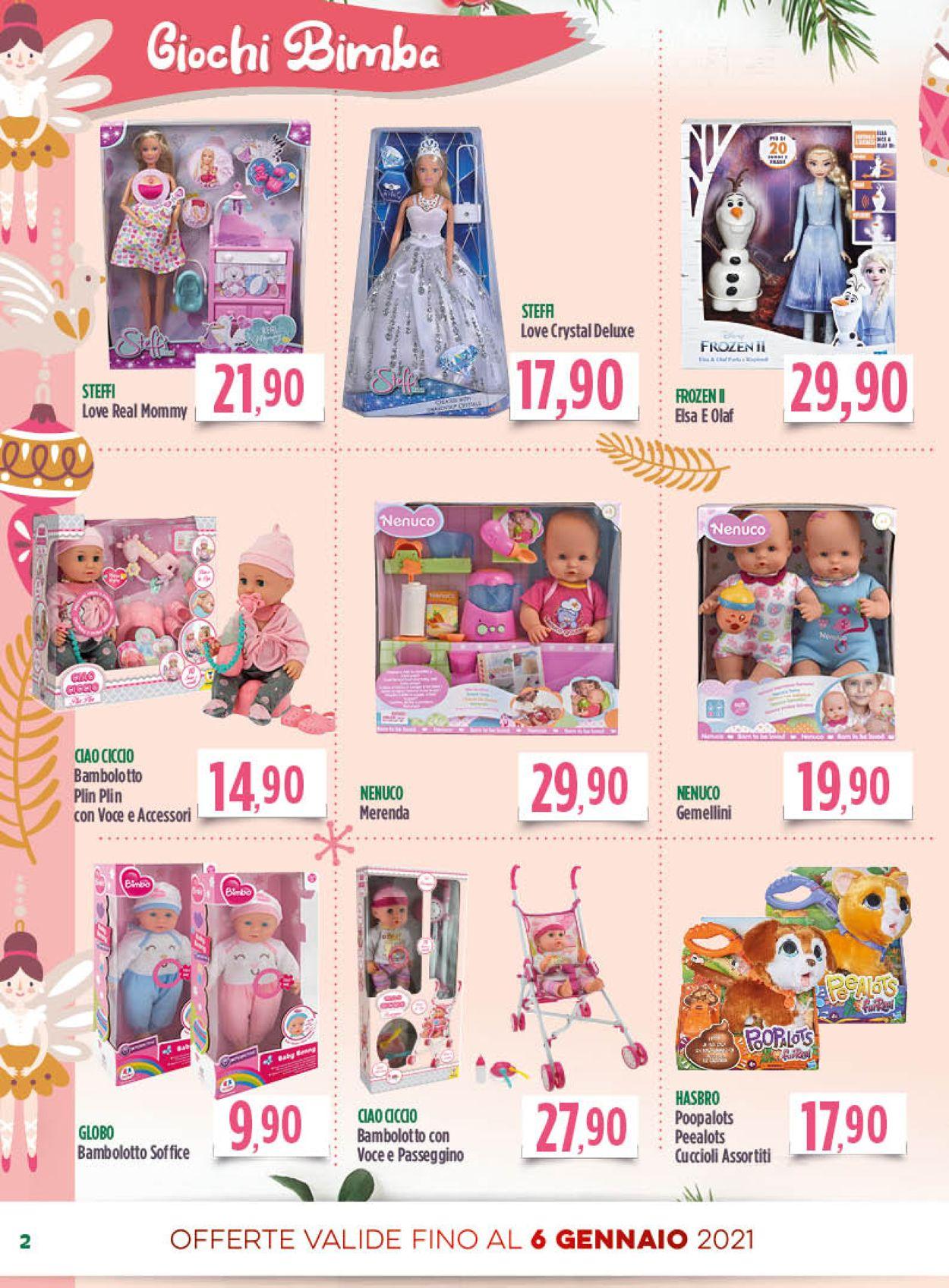 Volantino Famila - Natale 2020 - Offerte 01/12-06/01/2021 (Pagina 2)