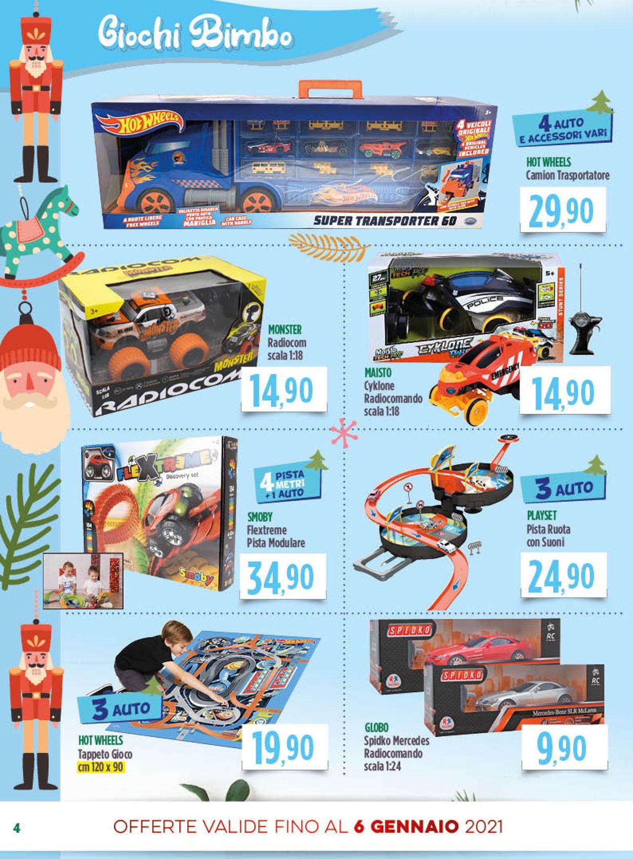 Volantino Famila - Natale 2020 - Offerte 01/12-06/01/2021 (Pagina 4)