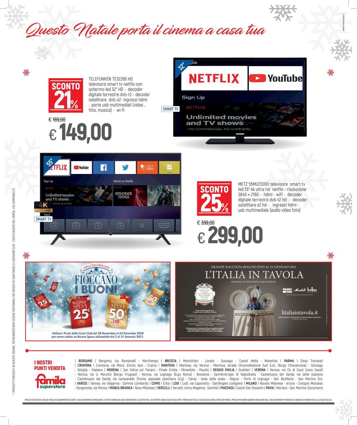 Volantino Famila - Natale 2020 - Offerte 14/12-31/12/2020 (Pagina 32)
