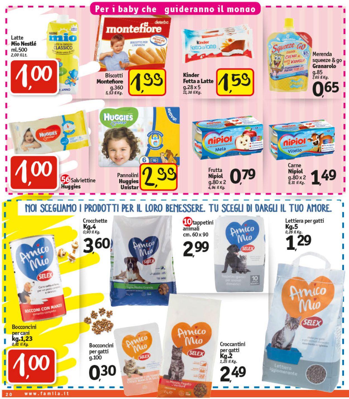 Volantino Famila - Offerte 21/01-30/01/2021 (Pagina 22)