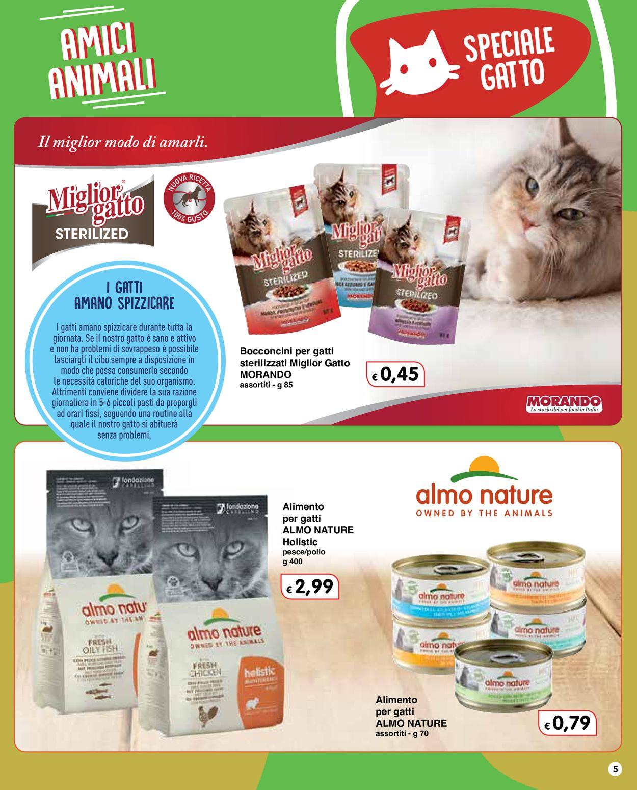 Volantino Famila - Amici Animali 2021 - Offerte 28/01-24/02/2021 (Pagina 5)