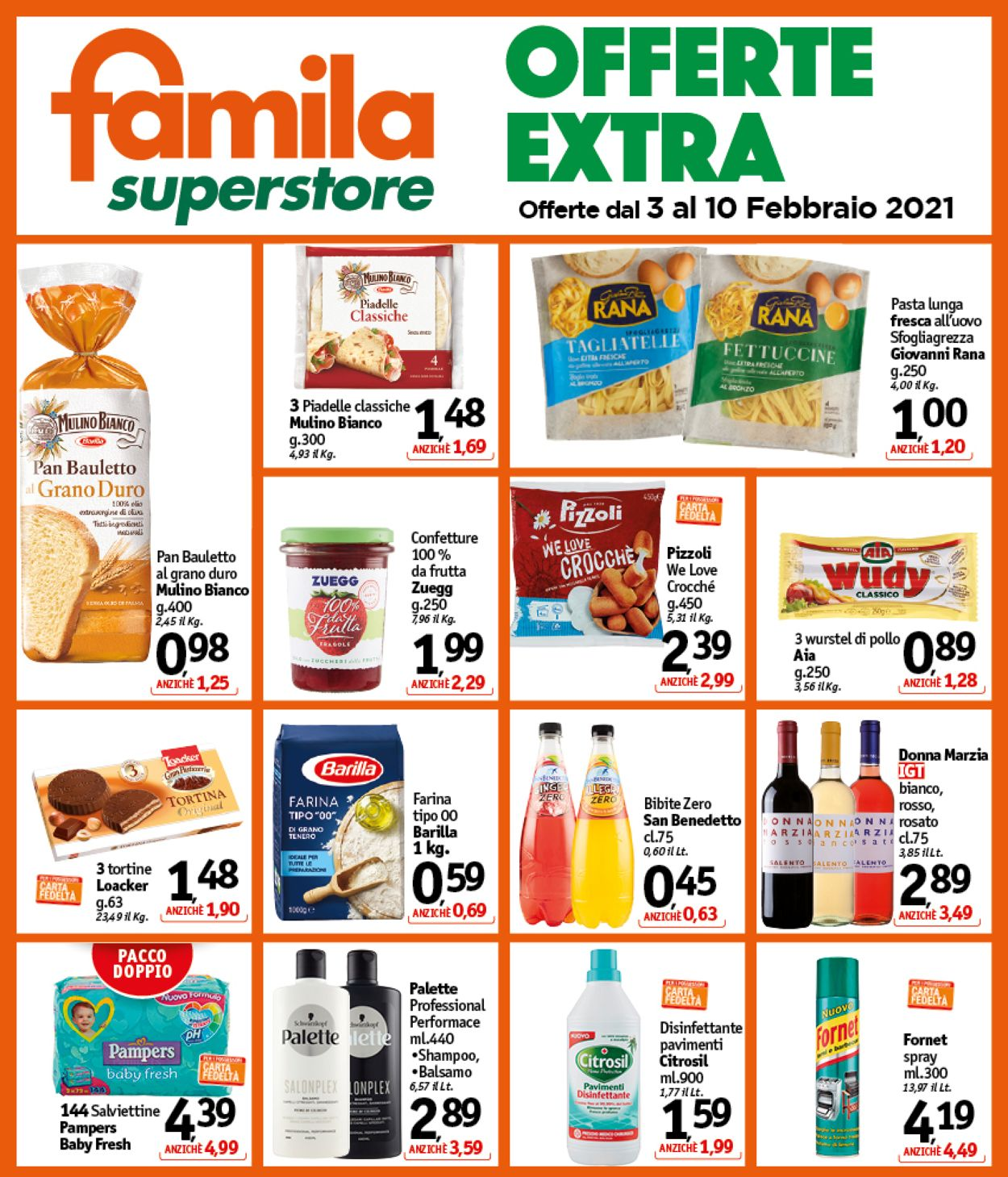 Volantino Famila - Offerte 03/02-10/02/2021 (Pagina 2)