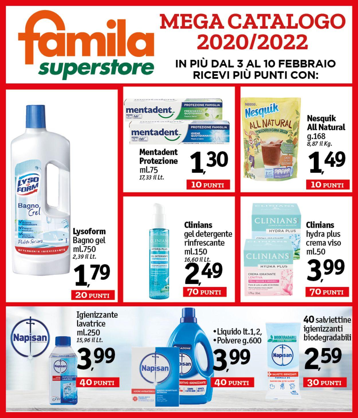 Volantino Famila - Offerte 03/02-10/02/2021 (Pagina 3)