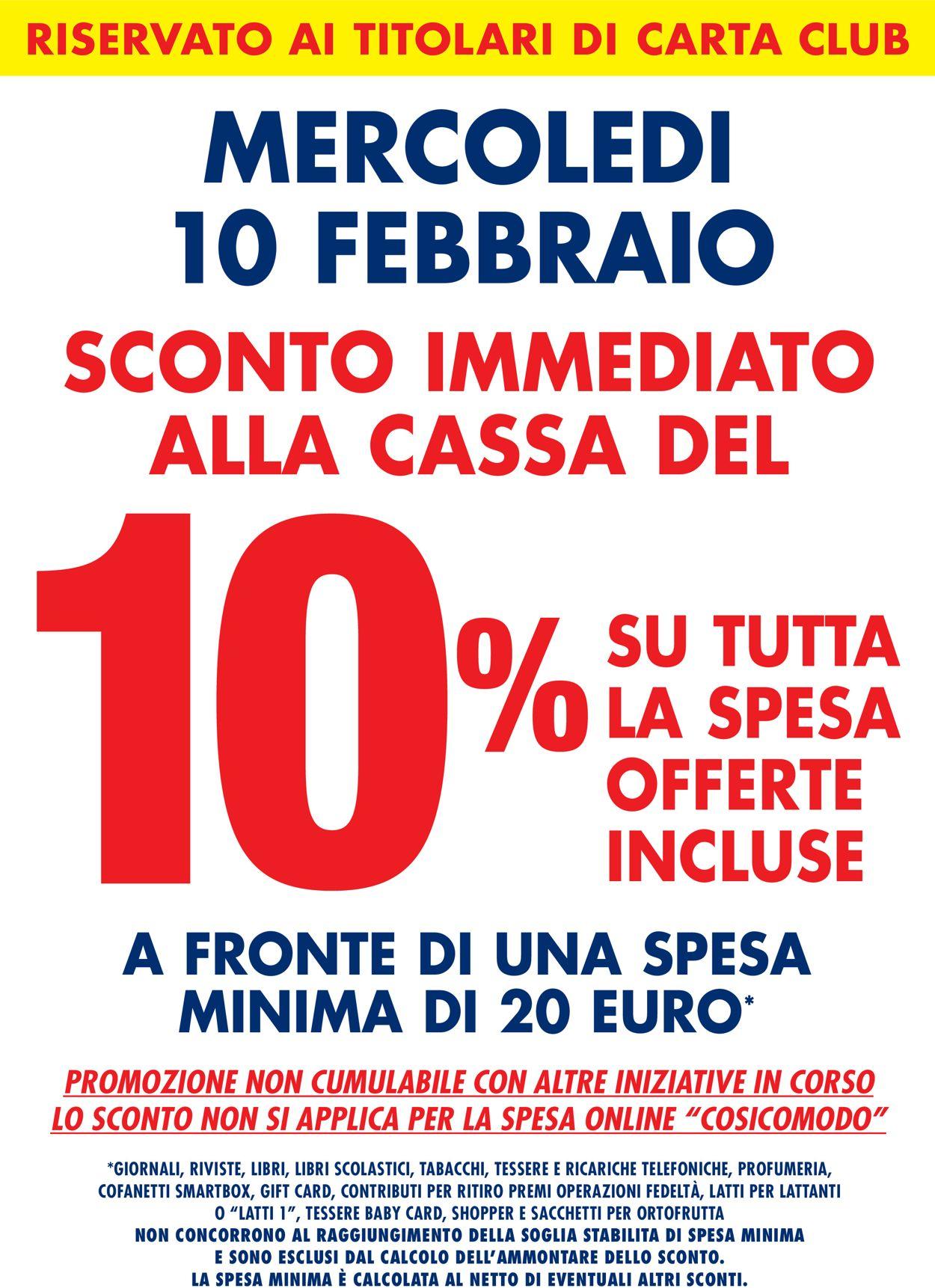 Volantino Famila - SCONTO 10% ALLA CASSA - Offerte 10/02-10/02/2021 (Pagina 2)
