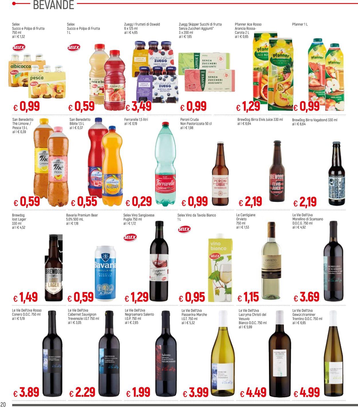 Volantino Famila - Offerte 11/03-20/03/2021 (Pagina 20)