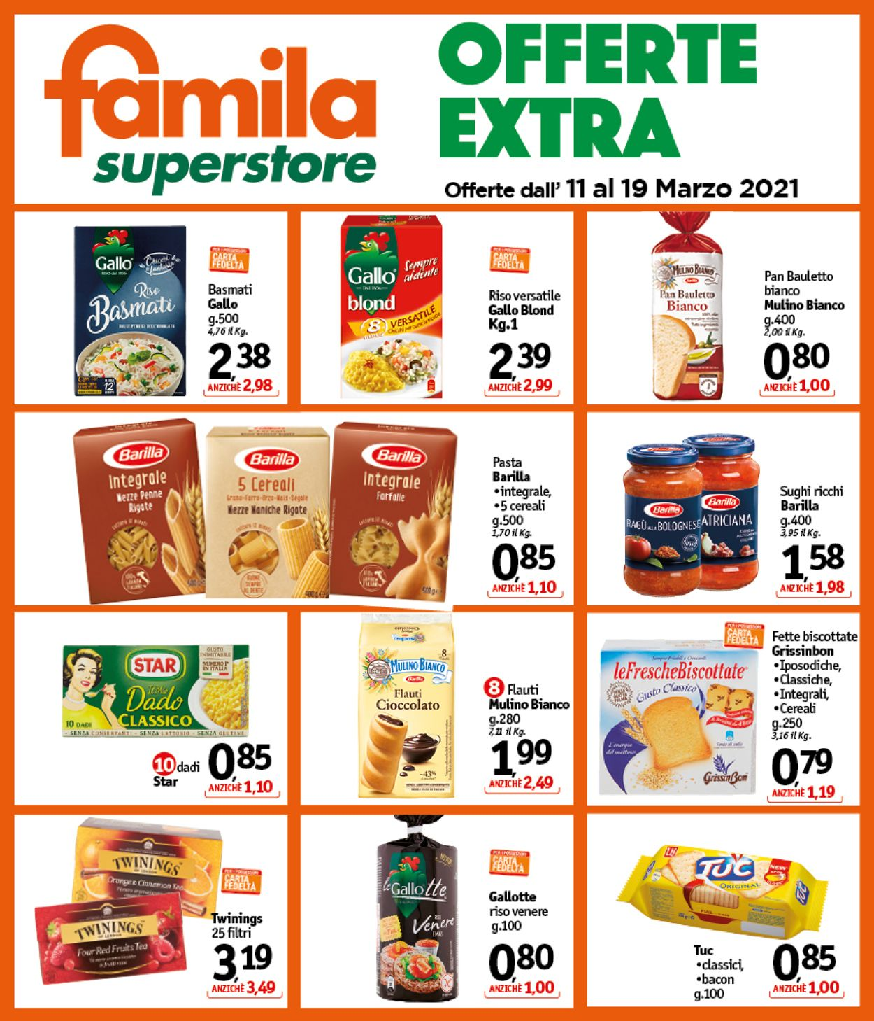 Volantino Famila - Offerte 11/03-19/03/2021 (Pagina 8)