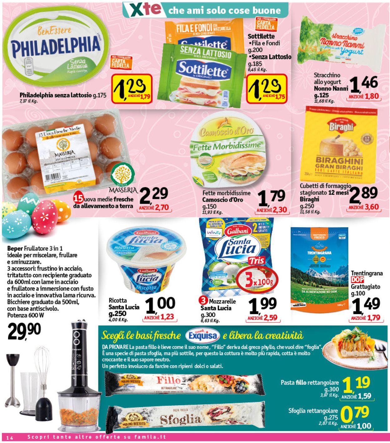 Volantino Famila - Pasqua 2021! - Offerte 24/03-02/04/2021 (Pagina 15)