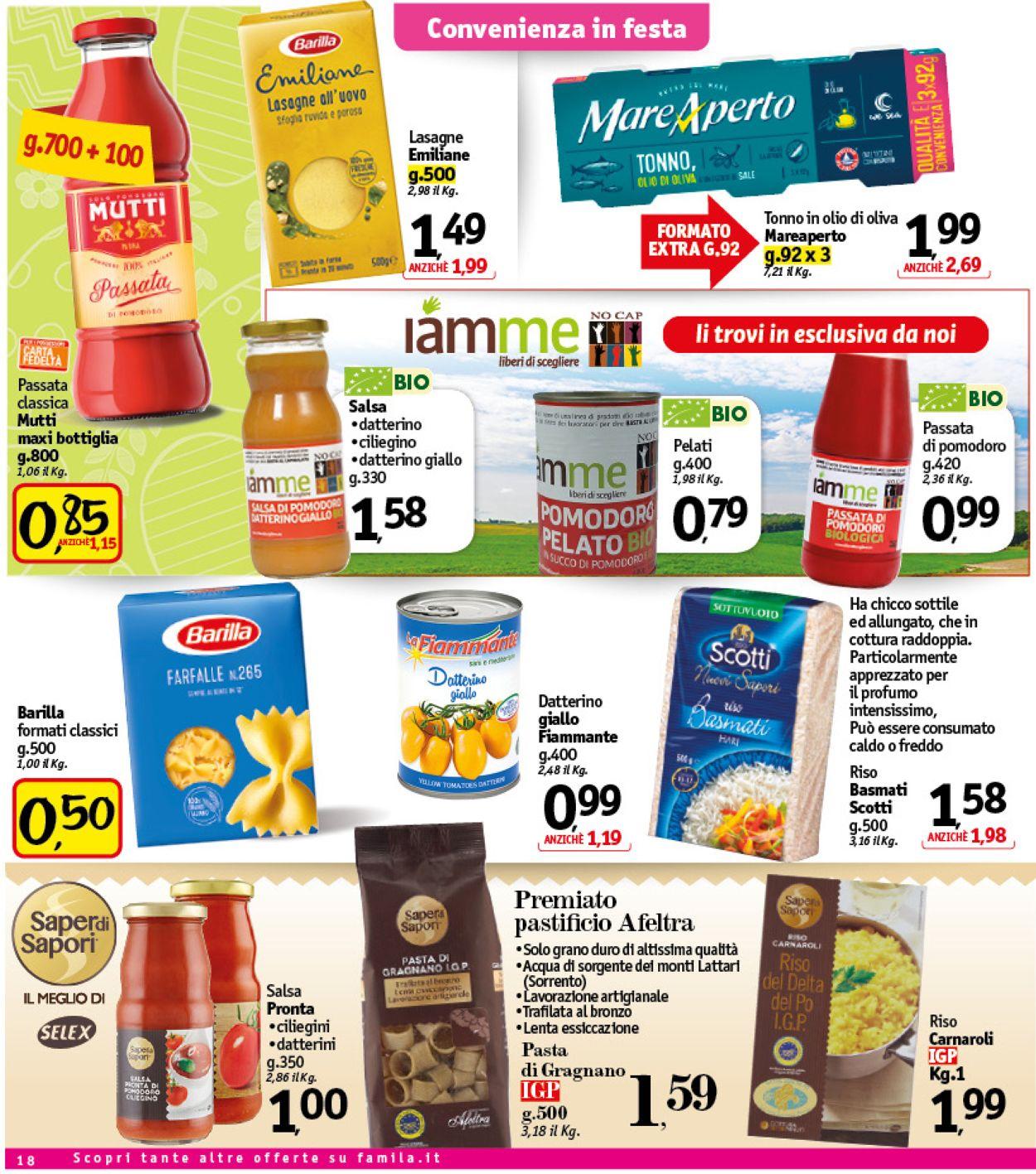 Volantino Famila - Pasqua 2021! - Offerte 24/03-02/04/2021 (Pagina 19)