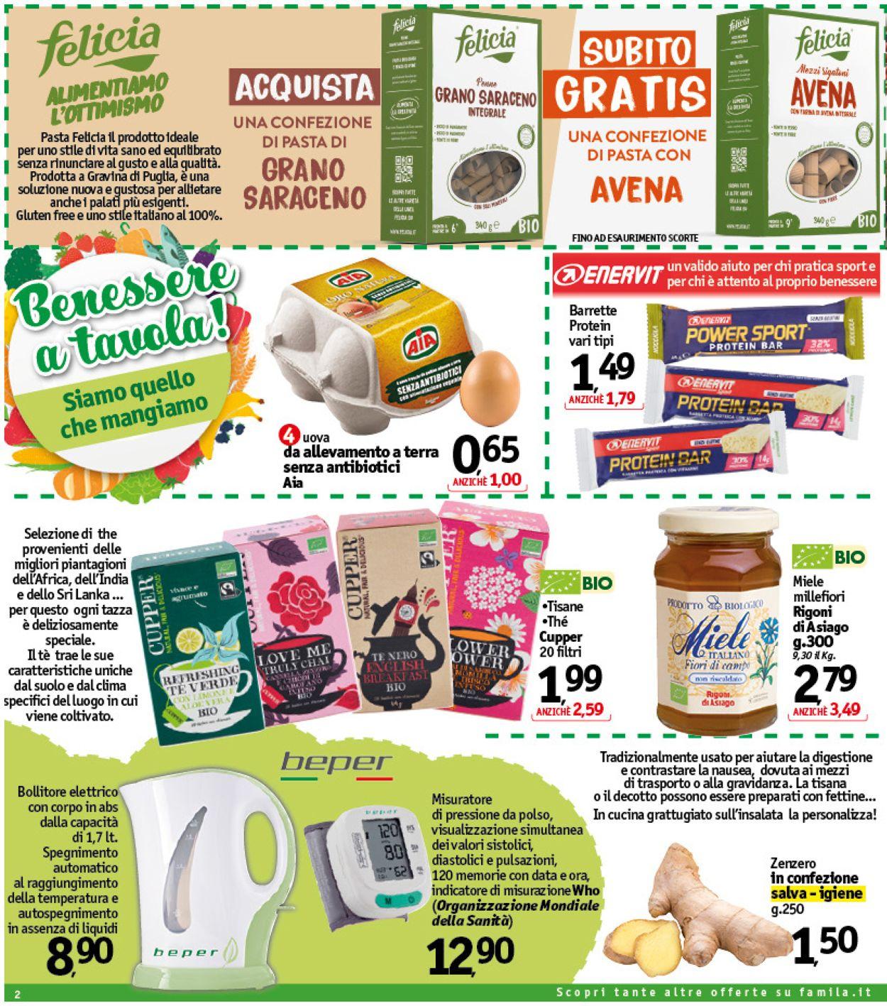 Volantino Famila - Offerte 09/04-17/04/2021 (Pagina 2)