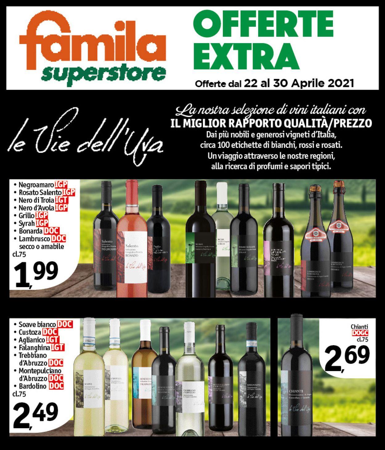 Volantino Famila - Offerte 22/04-30/04/2021 (Pagina 22)