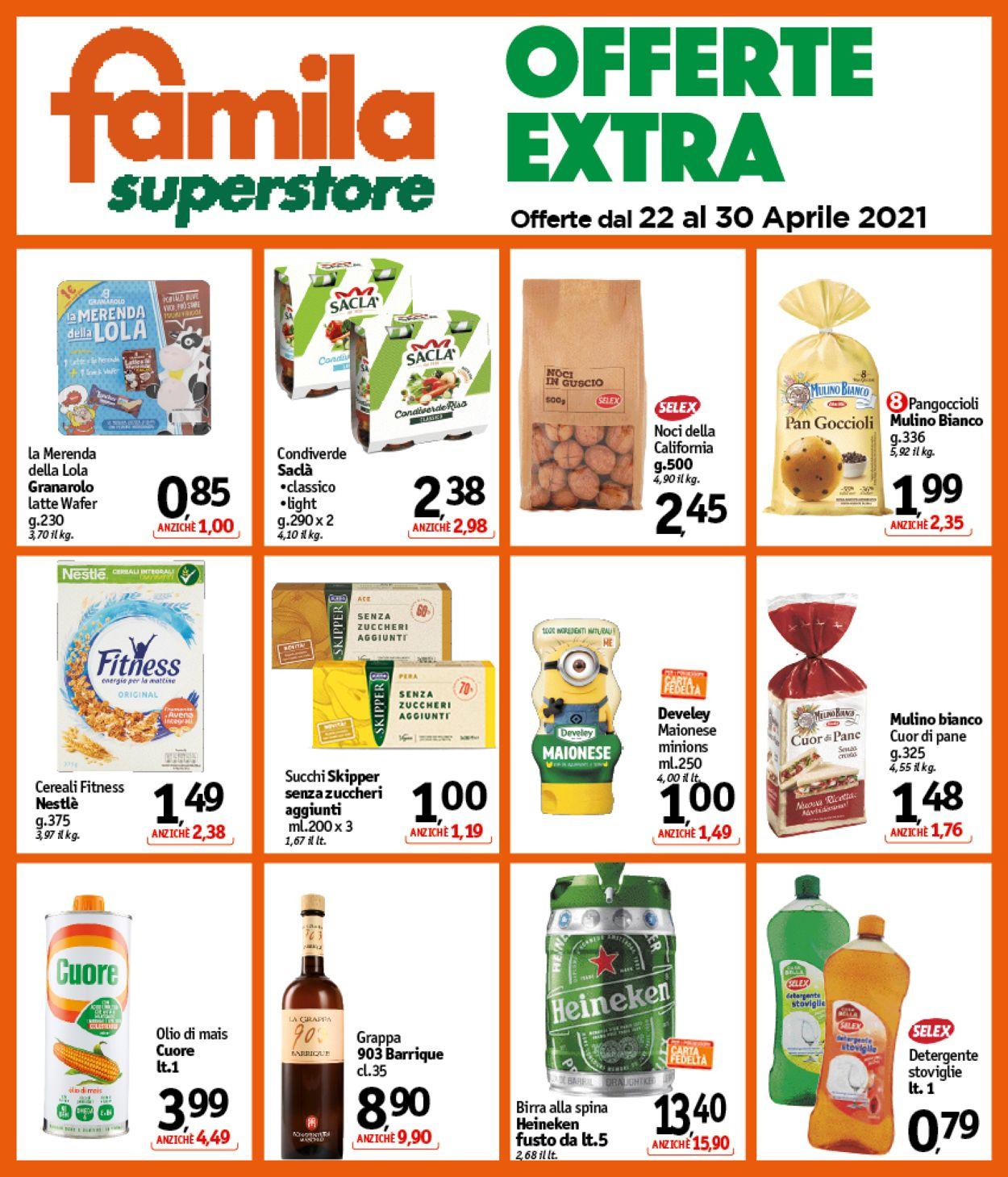 Volantino Famila - Offerte 22/04-30/04/2021 (Pagina 25)