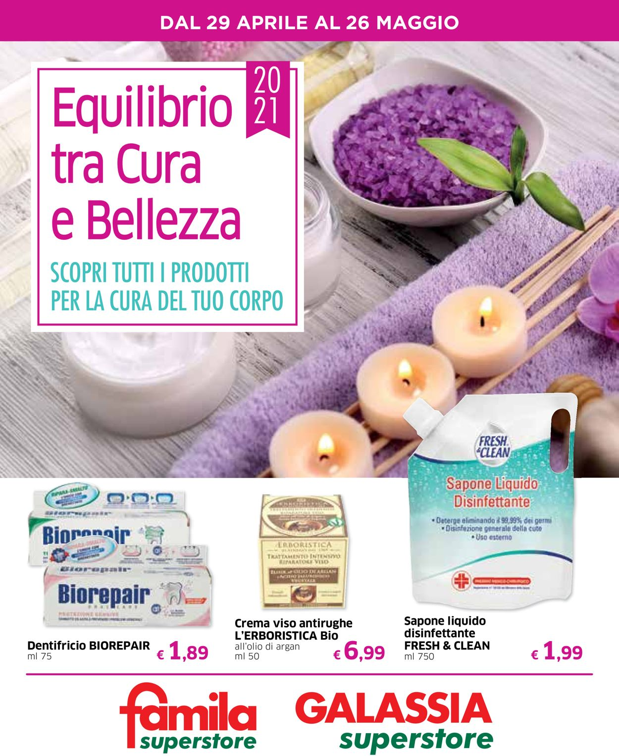 Volantino Famila - Offerte 29/04-26/05/2021