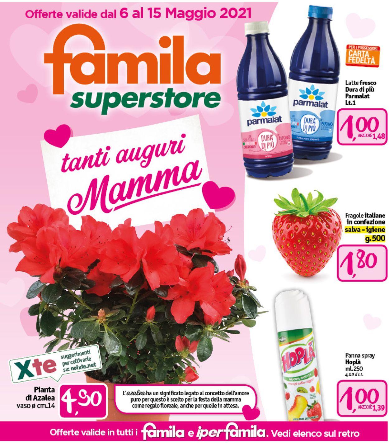 Volantino Famila - Offerte 06/05-15/05/2021