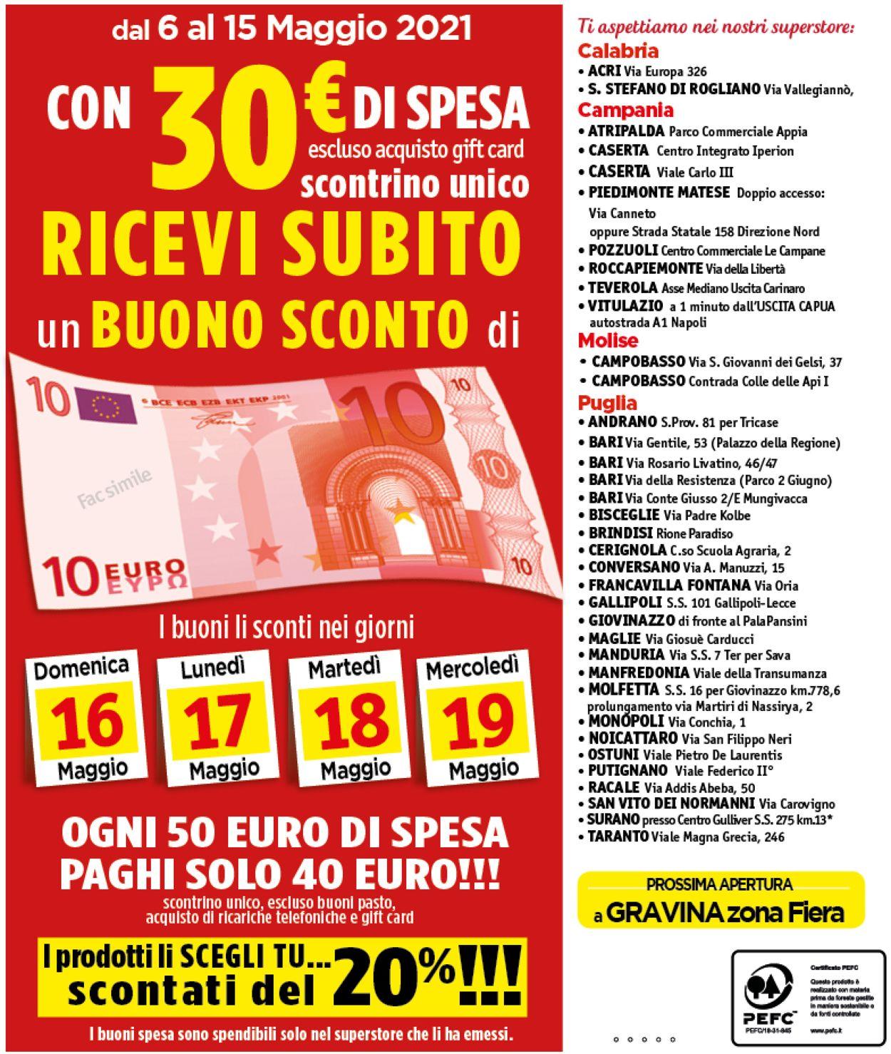 Volantino Famila - Offerte 06/05-15/05/2021 (Pagina 28)