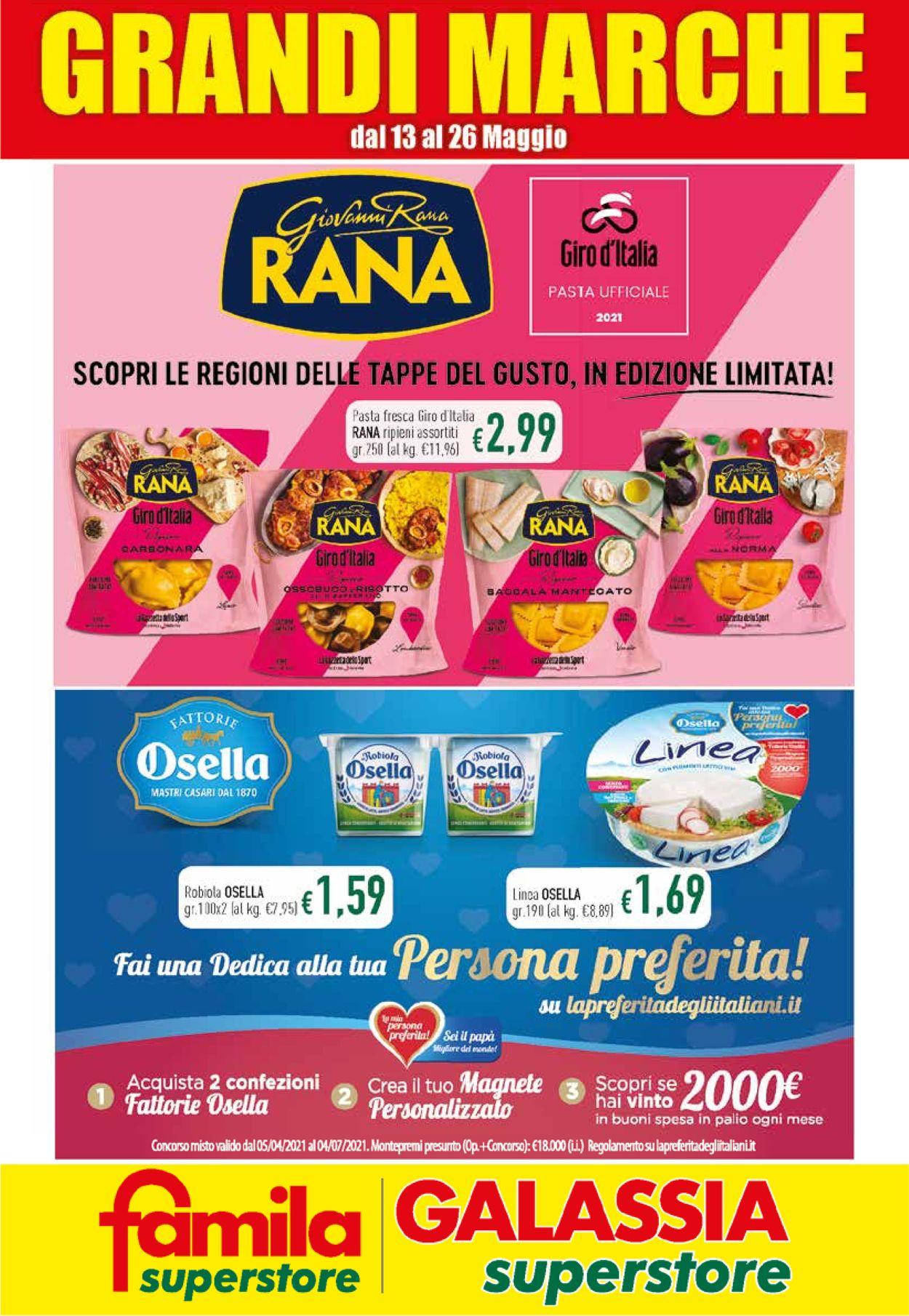 Volantino Famila - Offerte 13/05-26/05/2021
