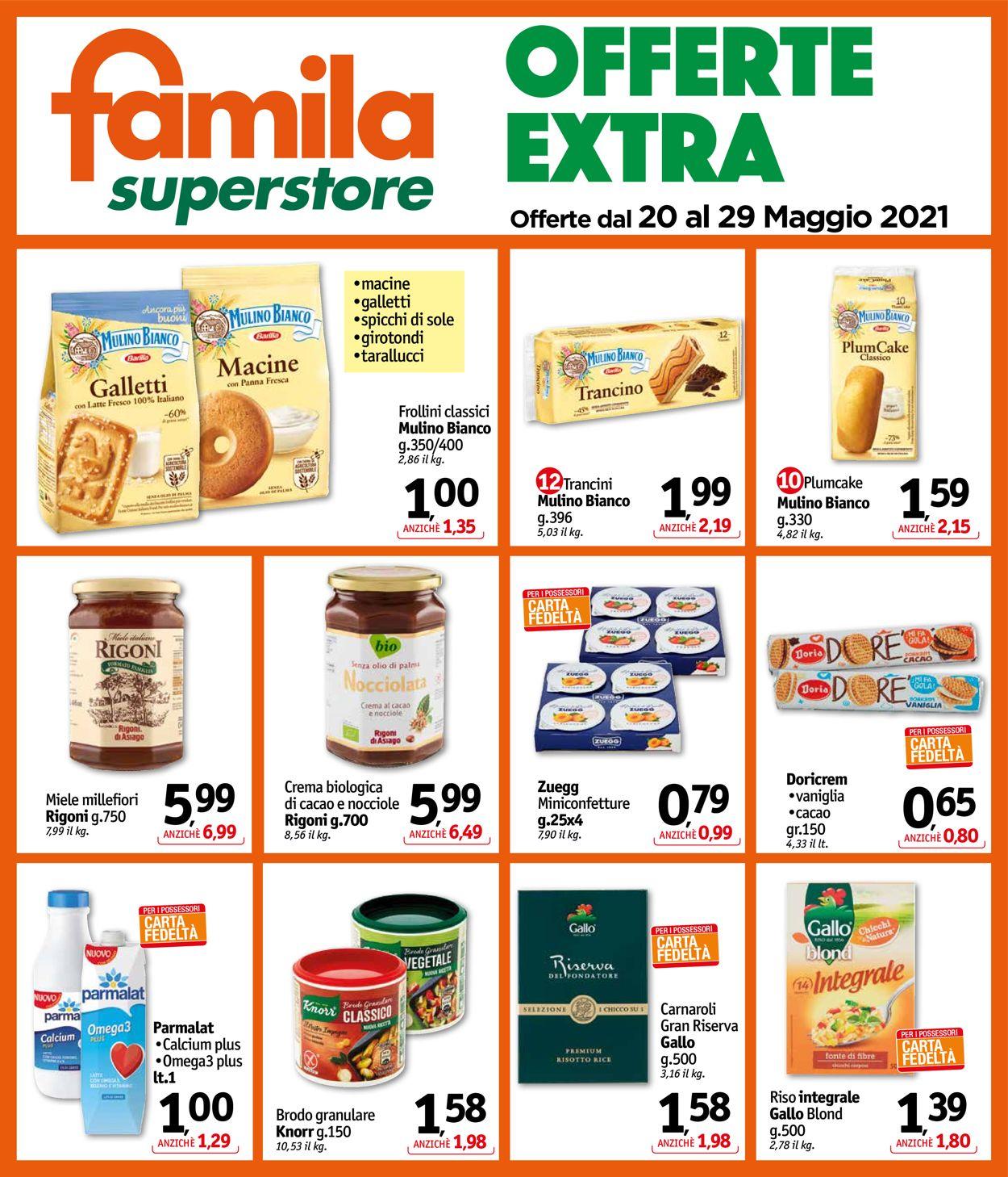 Volantino Famila - Offerte 20/05-29/05/2021 (Pagina 24)