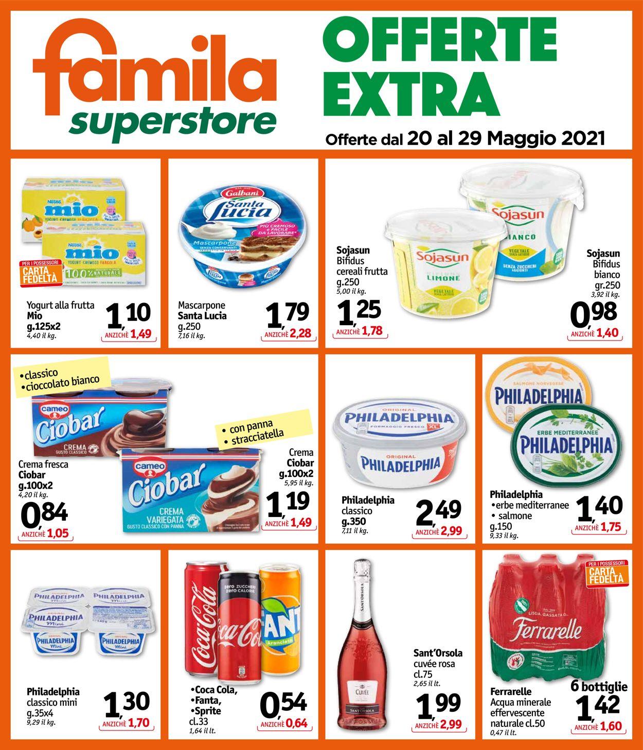 Volantino Famila - Offerte 20/05-29/05/2021 (Pagina 25)