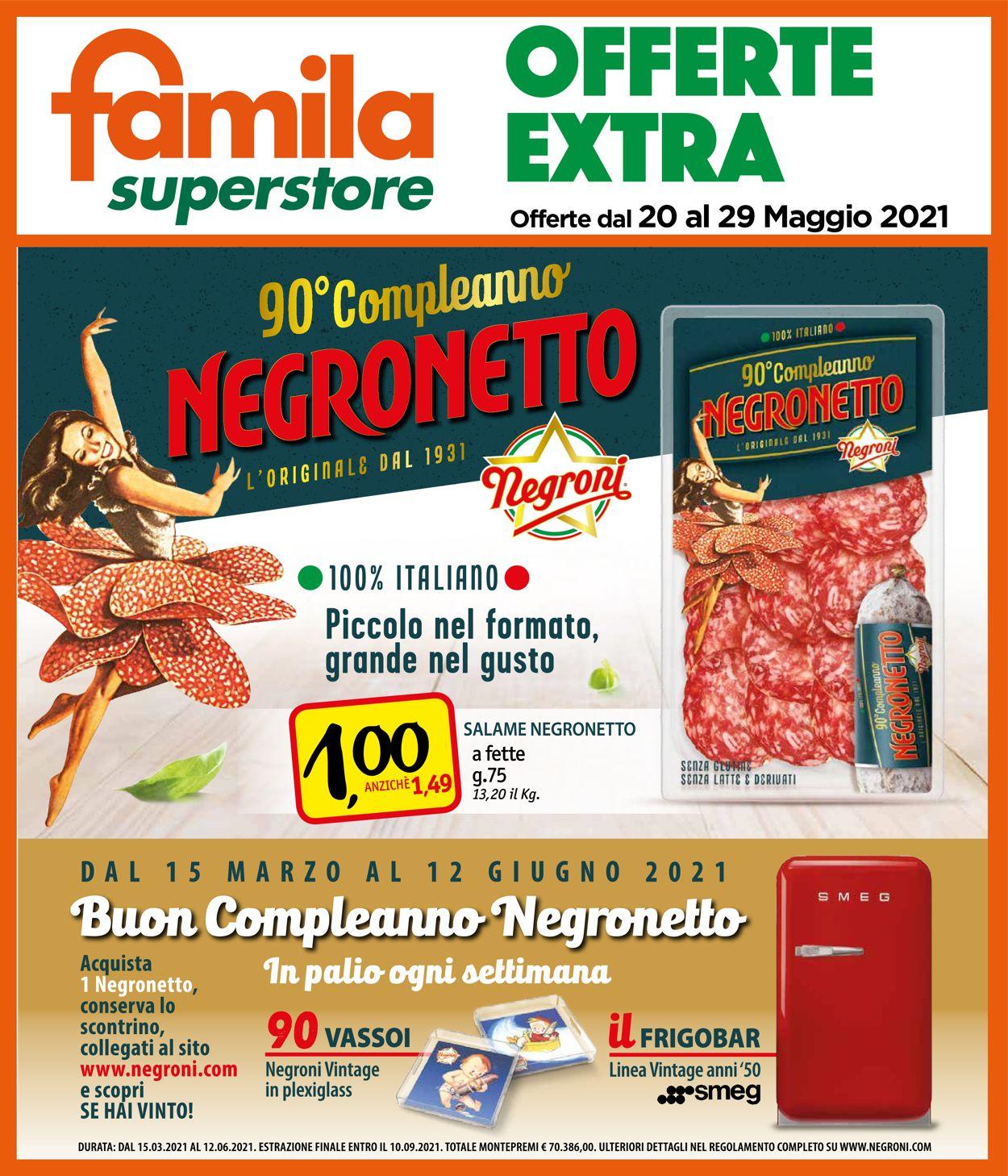 Volantino Famila - Offerte 20/05-29/05/2021 (Pagina 26)