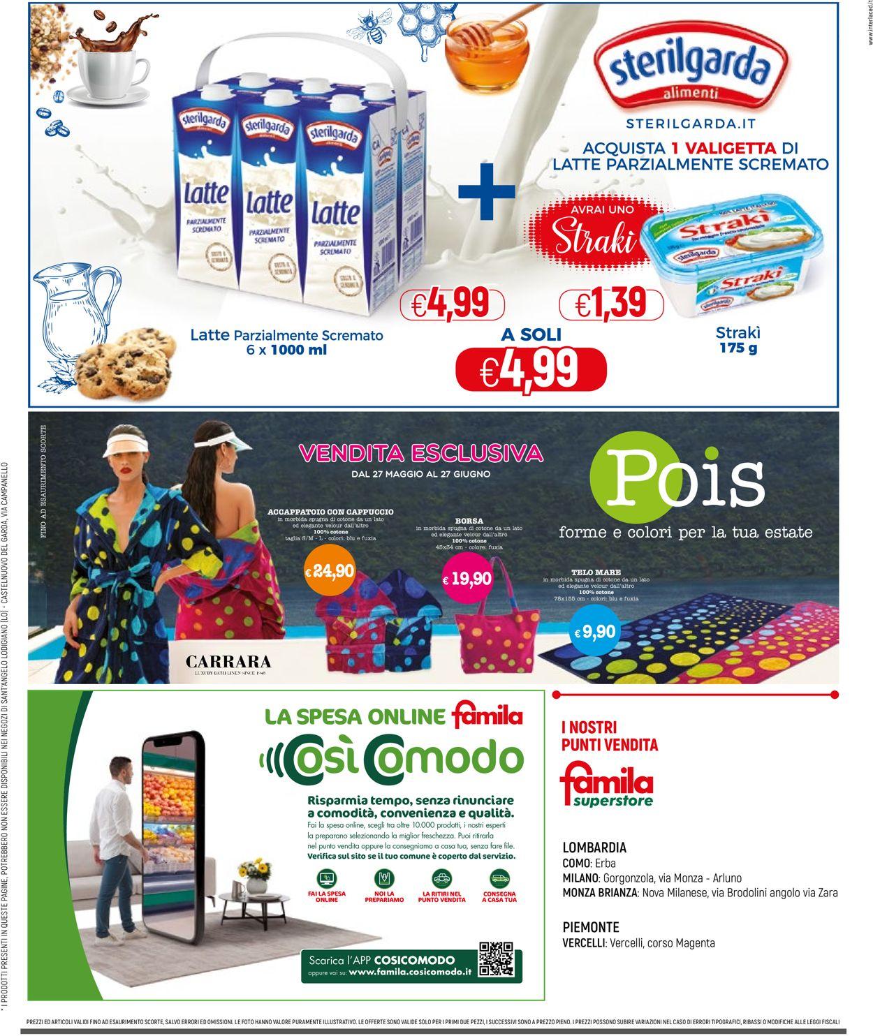 Volantino Famila - Offerte 27/05-09/06/2021 (Pagina 32)