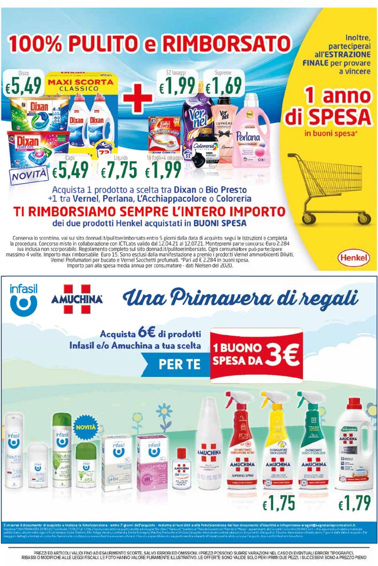 Volantino Famila - Offerte 27/05-09/06/2021 (Pagina 8)