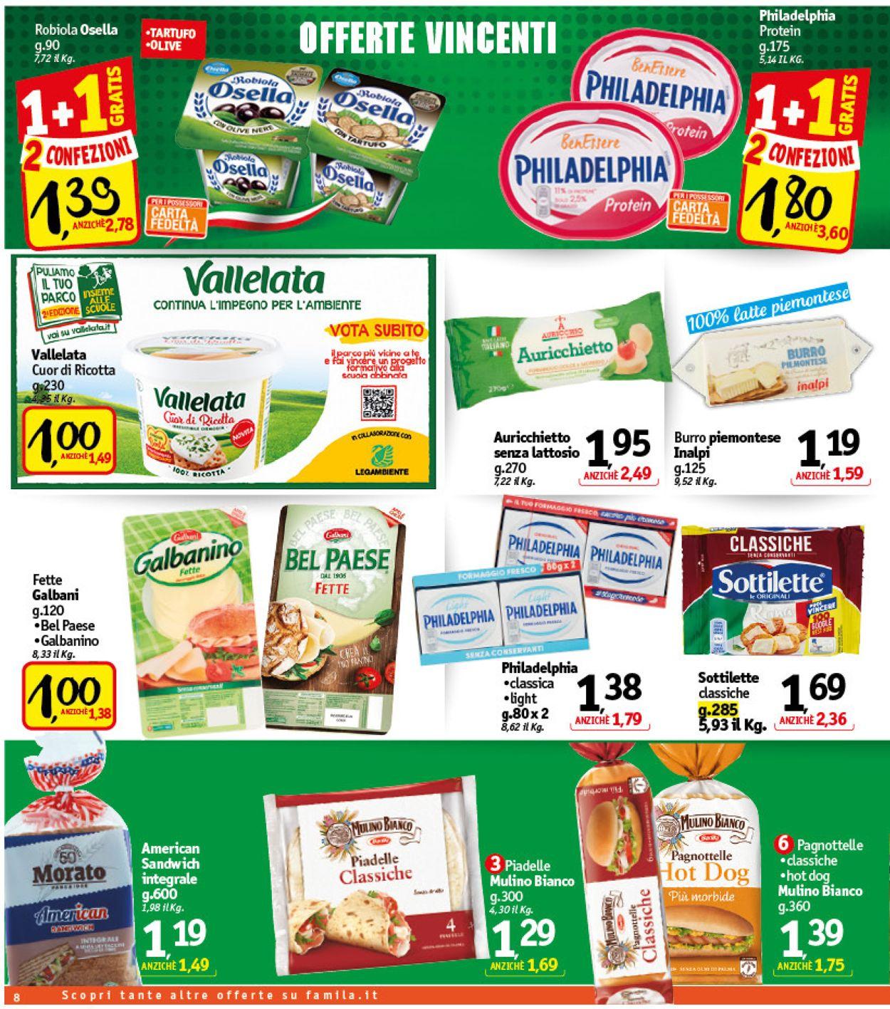 Volantino Famila - Offerte 03/06-12/06/2021 (Pagina 8)