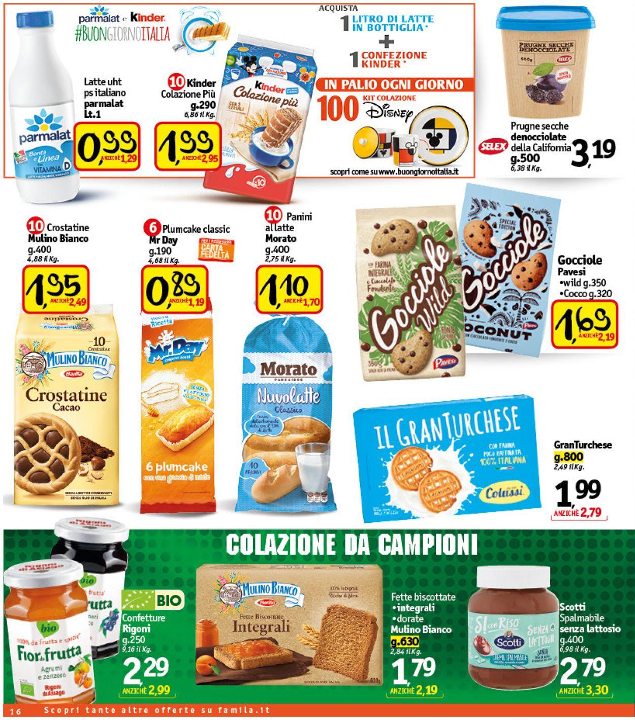 Volantino Famila - Offerte 03/06-12/06/2021 (Pagina 16)
