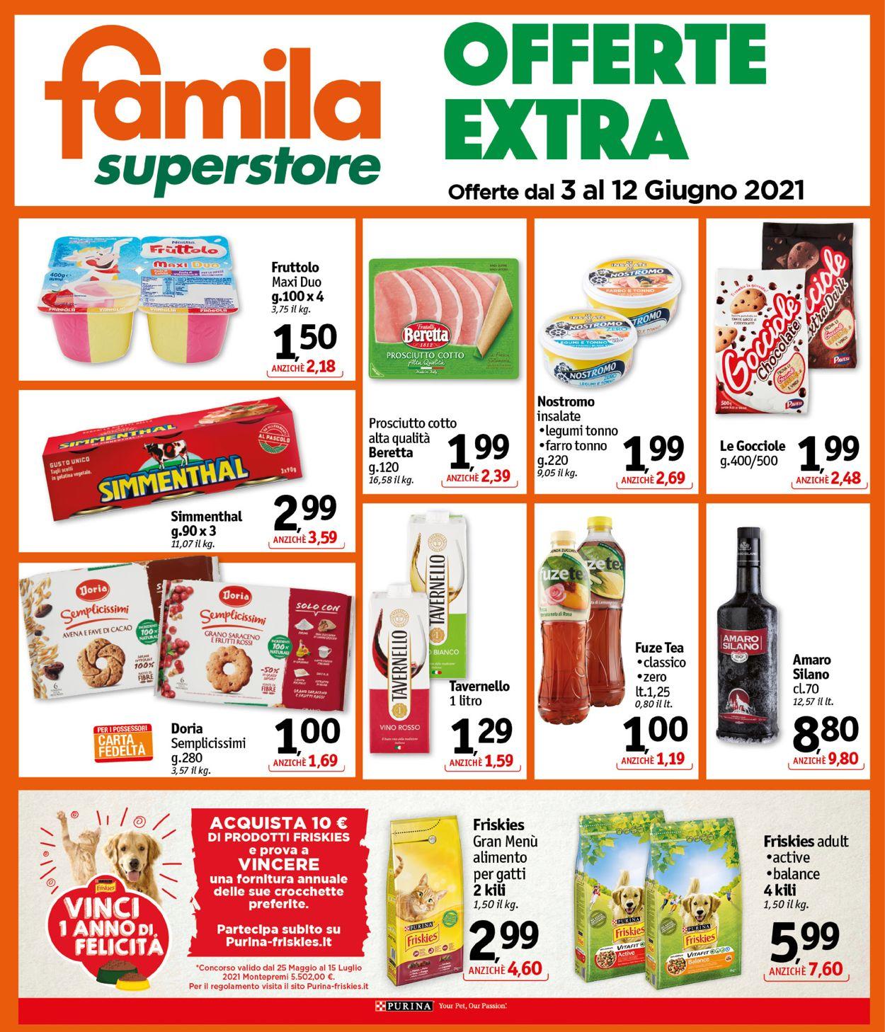 Volantino Famila - Offerte 03/06-12/06/2021 (Pagina 24)
