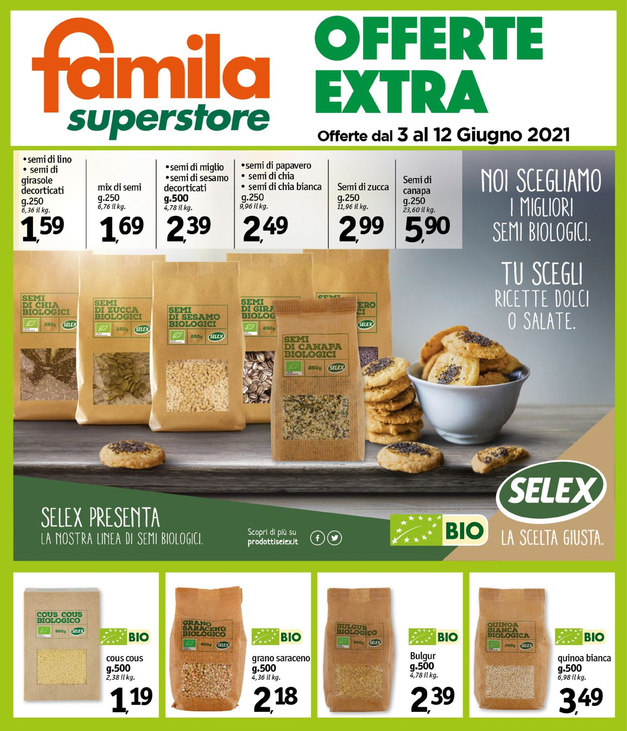 Volantino Famila - Offerte 03/06-12/06/2021 (Pagina 25)